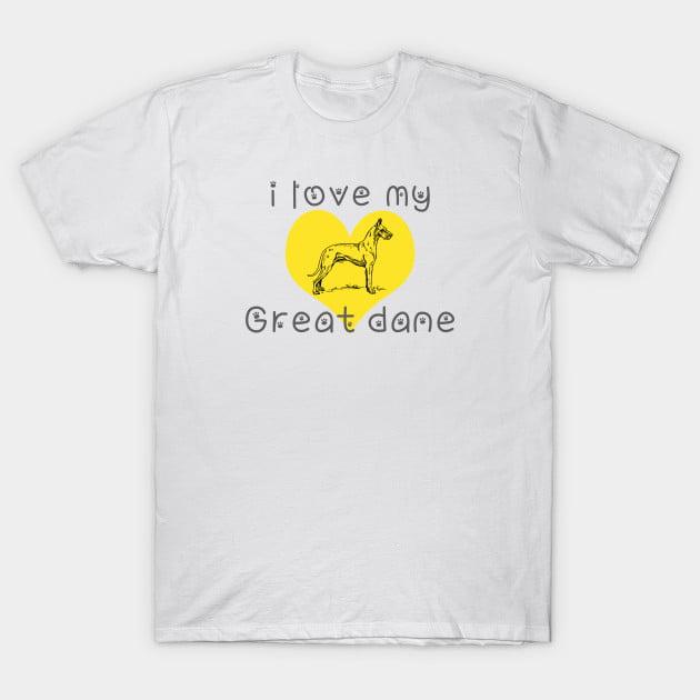 Great Dane Dog T-Shirts