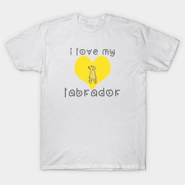 Labrador Dog T-Shirt