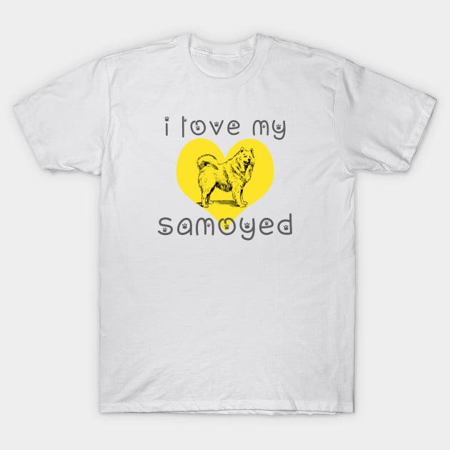 Samoyed Dog T-Shirts
