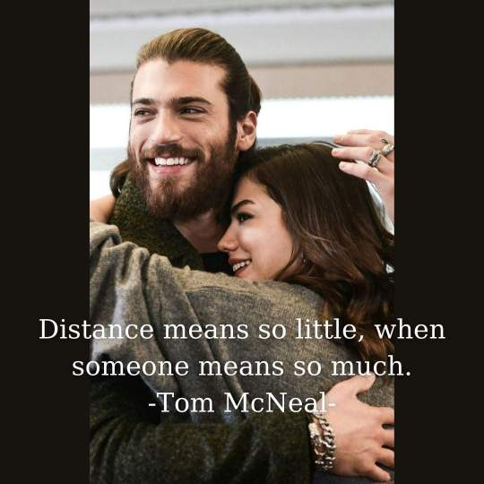 Long Distance Couple Quotes for Instagram Captions
