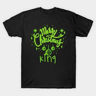 Christmas Balls King Queen T-Shirt
