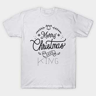 Christmas King Queen Shirts 2020