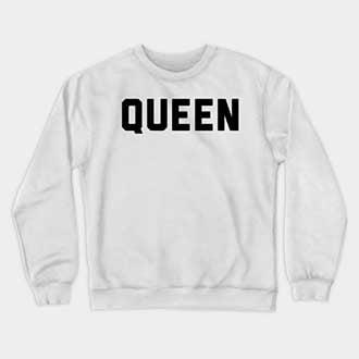 Couple King and Queen Sweatshirts