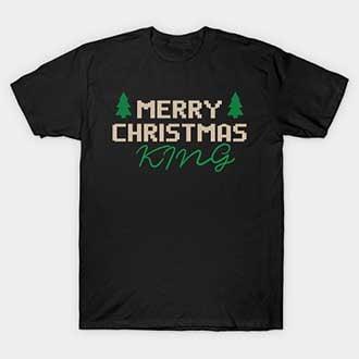Merry Christmas King T-Shirt