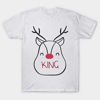 Reindeer King T-Shirt