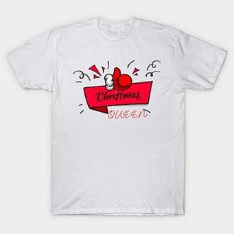 Santa Glove Queen T-Shirt