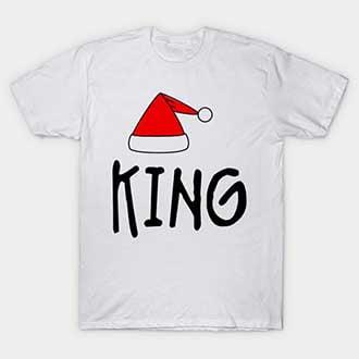 Santa Hat King T-Shirt
