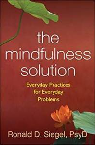 The mindfulness solution: recommended by CBT depression therapist Tim Barron in Cincinnati, OH 45226