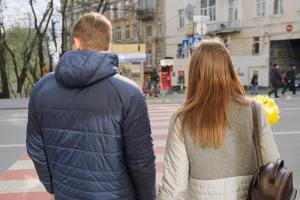 Photo of Young Couple Walking Outside | Counseling for Infidelity & Affair Recover | Cheating Spouse | Cincinnati, OH 45226