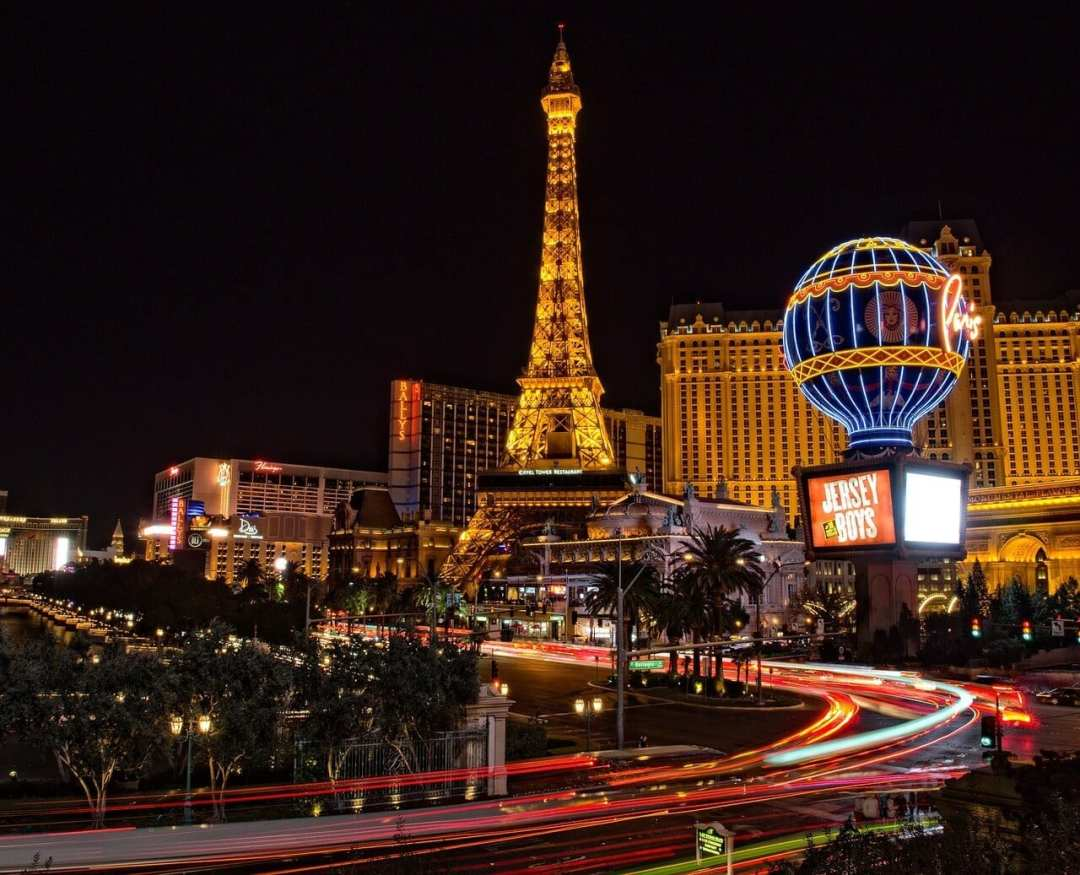 An image of Las Vegas hotels which we book cheap