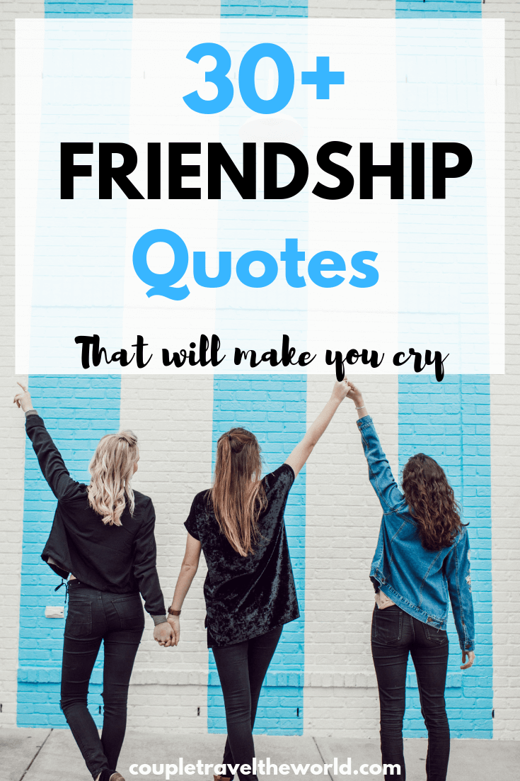 30 + Best Friends Quotes that will make you cry (Ideal ...