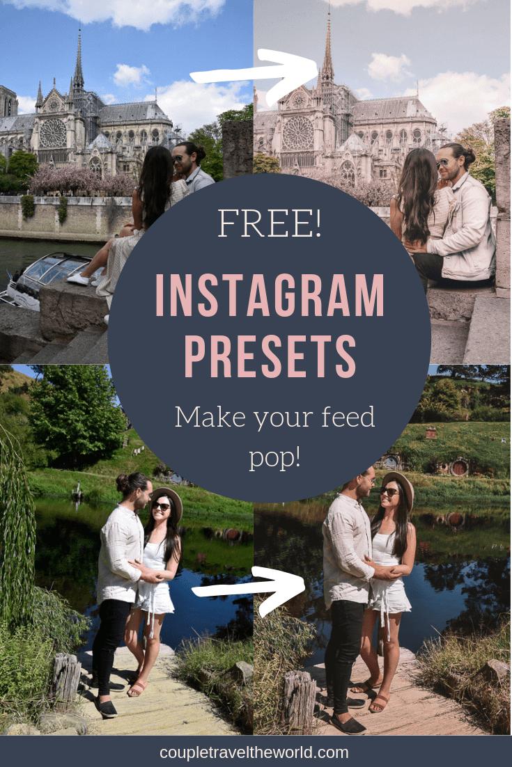 free instagram lightroom presets