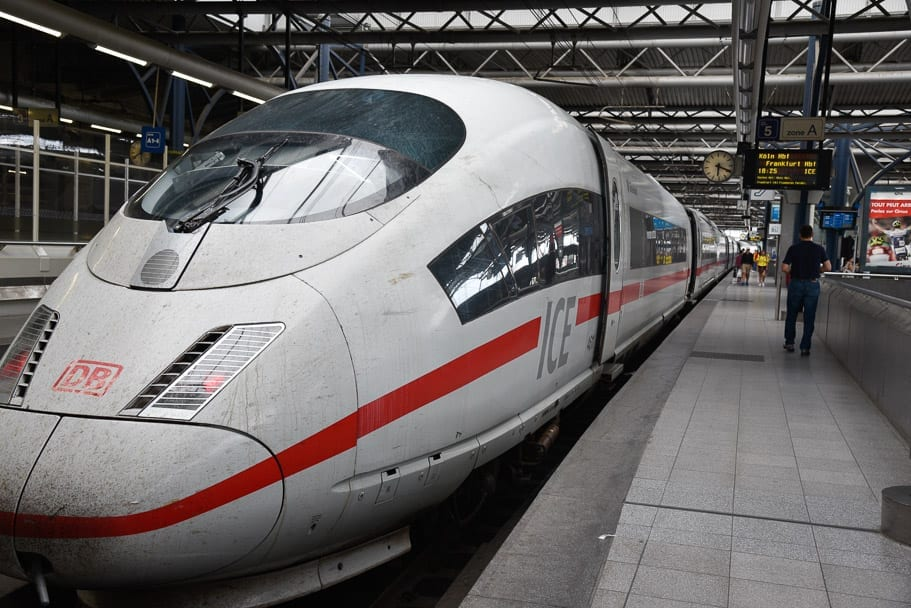 Brussels to Frankfurt Train (Eurail Review)