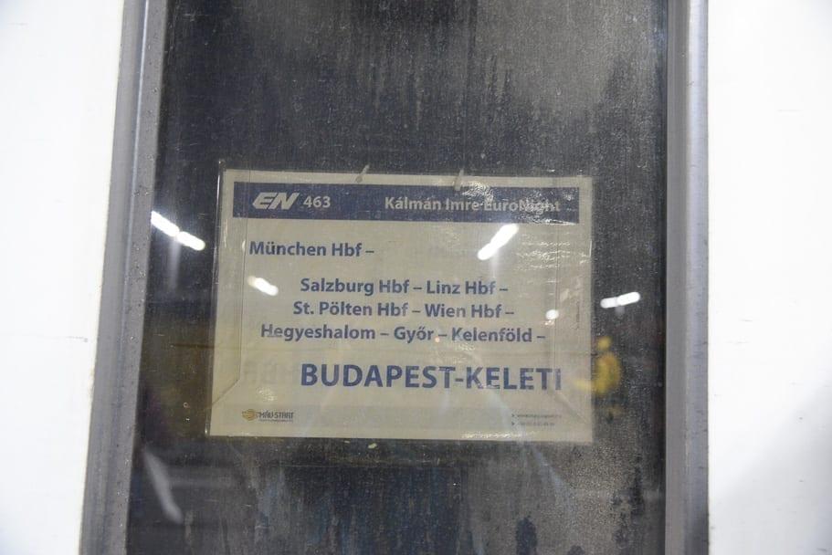 Munich-budapest-train