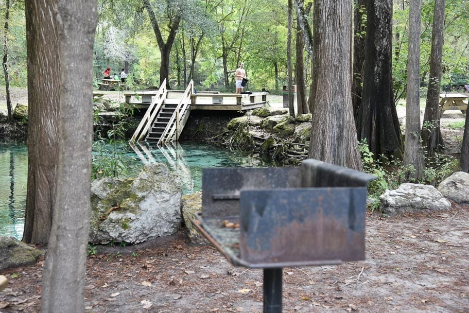 Ginnie-Springs-camping-bbq