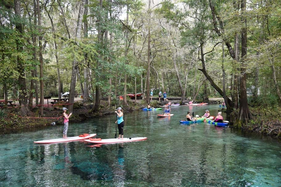 Ginnie-Springs-kayak-canoe-stand-up-paddle-board