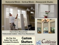 Shutters and Shades 4U, Chatsworth, coupons, direct mail, discounts, marketing, Southern California