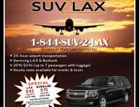 SUV 2 LAX, Chatsworth, coupons, direct mail, discounts, marketing, Southern California