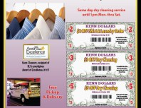 Kenn Cleaners, Granada Hills, coupons, direct mail, discounts, marketing, Southern California