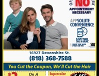 Supercuts, Granada Hills, coupons, direct mail, discounts, marketing, Southern California
