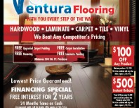 Ventura Flooring, Moorpark, coupons, direct mail, discounts, marketing, Southern California