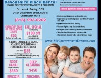 Devonshire Place Dental, Porter Ranch, coupons, direct mail, discounts, marketing, Southern California