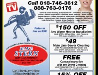 Mike Stern Service Company, Porter Ranch, coupons, direct mail, discounts, marketing, Southern California