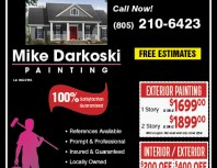 Mike Darkoski Painting, Simi Valley,, coupons, direct mail, discounts, marketing, Southern California