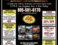 Next Auto Body and Auto Repair, Simi Valley,, coupons, direct mail, discounts, marketing, Southern California