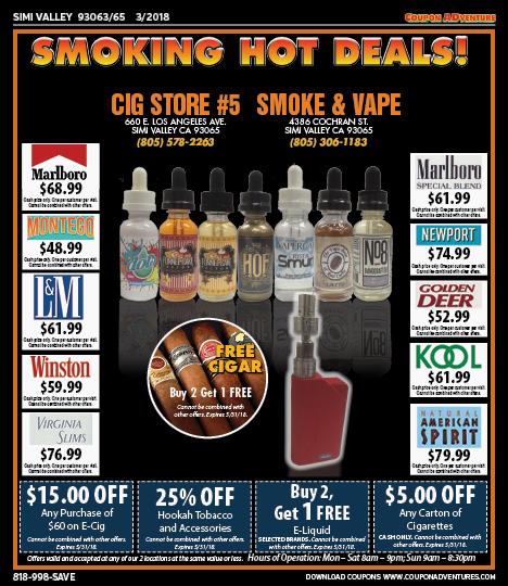 SV02 Smoke & Vape 93063-65 0318 | Coupon ADventures