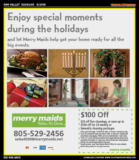 SV03 Merry Maids 93063-65 0918 | Coupon ADventures