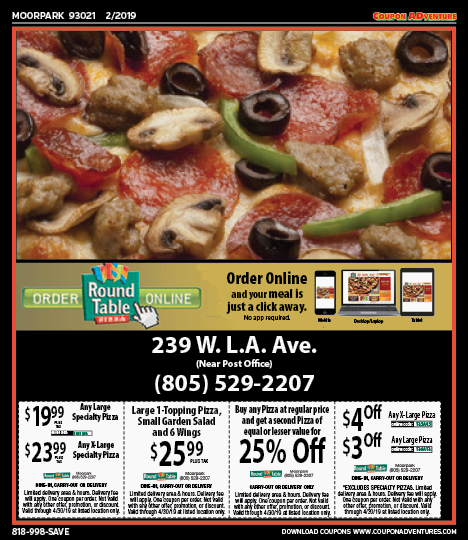 Mp09 Round Table Pizza 93021 0219 Coupon Adventures