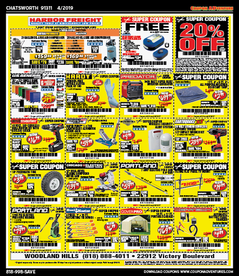 Chatsworth 91311 April 2019 coupons   Coupon ADventures