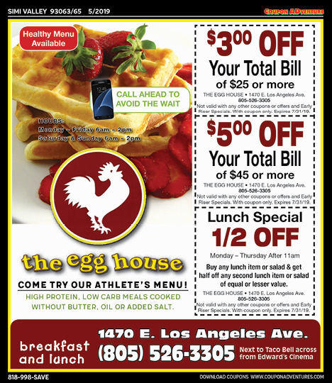 Simi Valley 93063 65 May 2019 Coupons Coupon Adventures