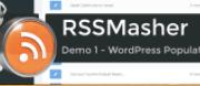 RSSMasher screenshot