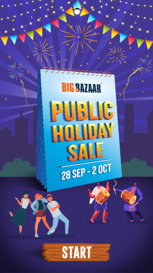 Big Bazaar Public Holiday Sale Offer