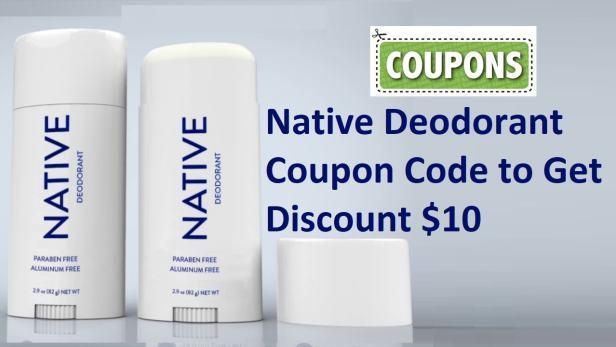 Native Deodorant Coupon codes & deals