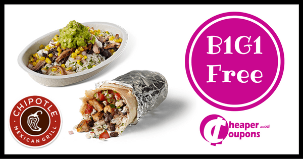 chipotle coupon june 2019
