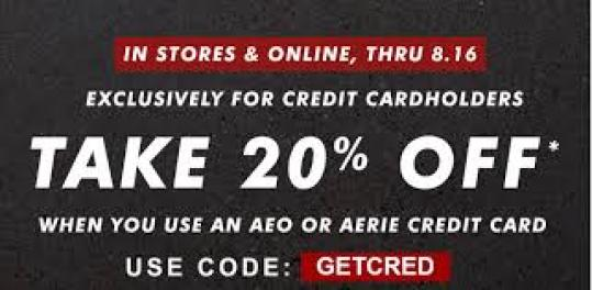 Get Amazing Discount Aerie Promo Code