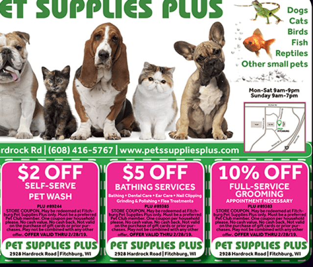 Pet Supply Plus Coupon Discount 45%
