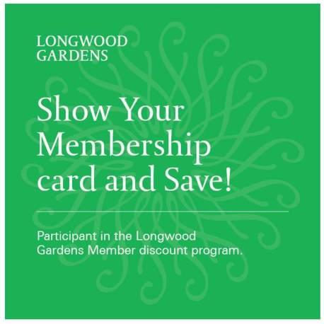Longwood Garden Promo Code 45% Discount
