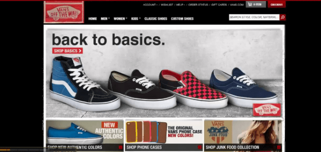 Vans Coupon Code Extra Discount