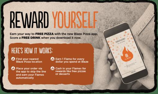 Blaze Pizza Promo Code 55% Discount