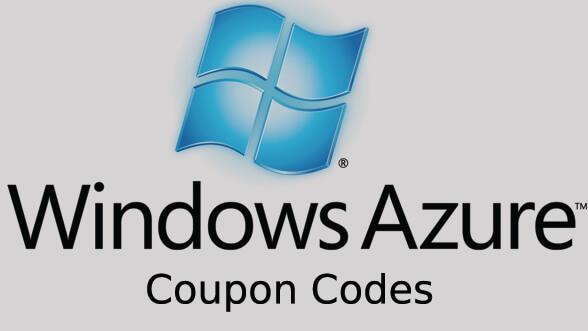 Windows Azure Coupon Codes