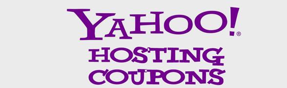 yahoo web hosting coupon