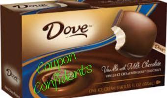 Dove Ice Cream Bars only $1 a box at Publix this week!