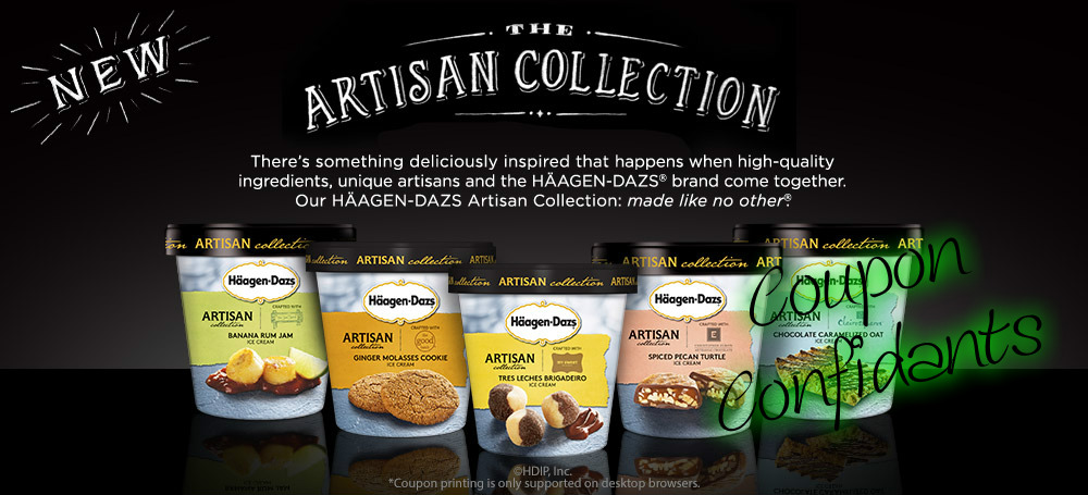 image regarding Haagen Dazs Coupon Printable identify YUMMY! Haagen-Dazs Ice product just $1.24 every single at Publix