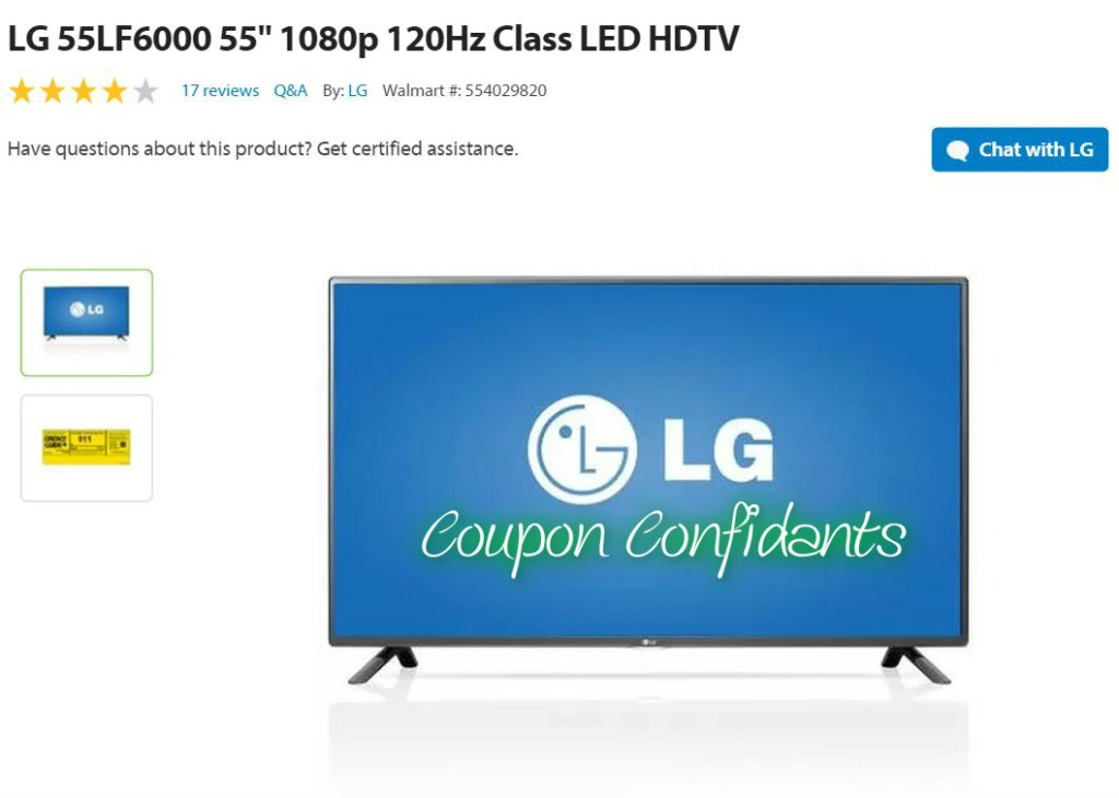 55″ TV for under $500??