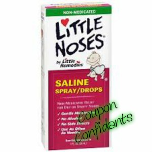 Little Noses baby nose drops .99 at CVS!