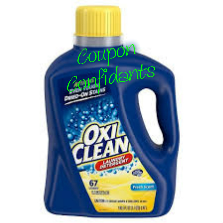 100.5 oz Oxi Clean at Target for only $4.67/2 with 5$ GC offer